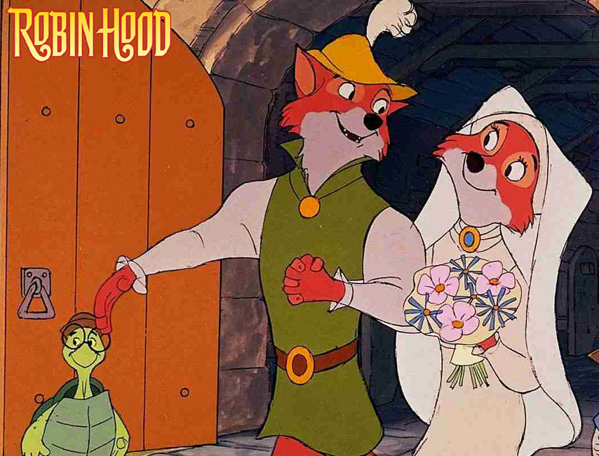 5 free robin hood disney desktop wallpapers - Hood cartoon wallpaper ...