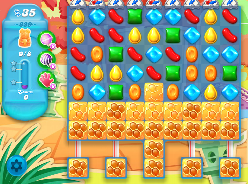 Candy Crush Soda Saga 839