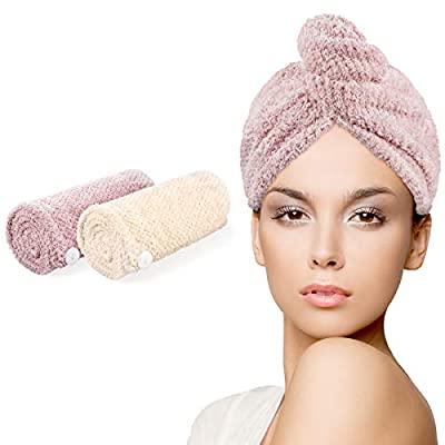 40% OFF Microfiber Hair Towel-2 Pack