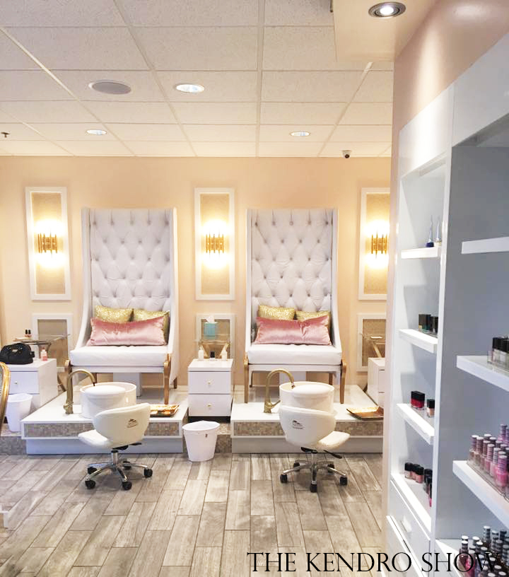 My Visit to Re\'Luxe Nail & Spa Boutique - #TheKendroShow
