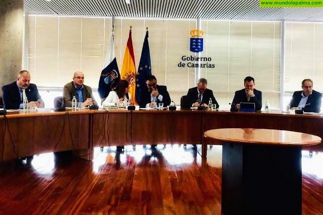 El Cabildo de La Palma y el Gobierno de Canarias avanzan en la coordinación en obras públicas