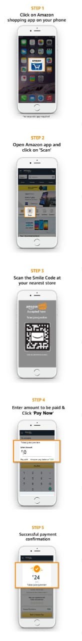 Amazon Scan And Pay Offer