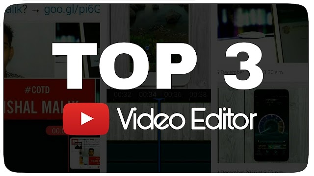 Top 3 video editing app for android 2019.