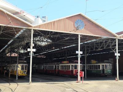 リスボン路面電車の車庫