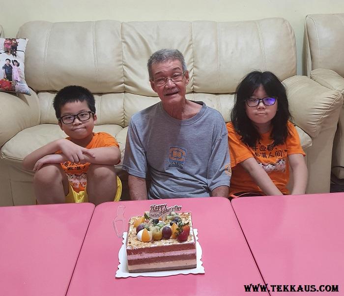 Happy Father's Day Portrait Photo