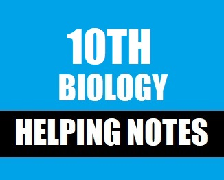 Class 10th Biology Notes in PDF Format