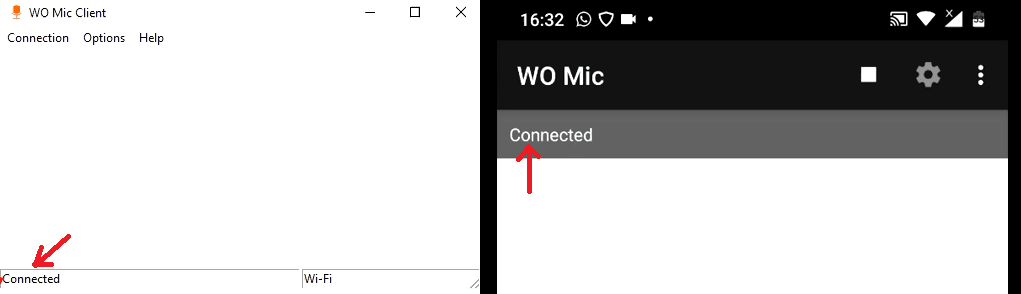 How to use android mobile as wireless microphone for your