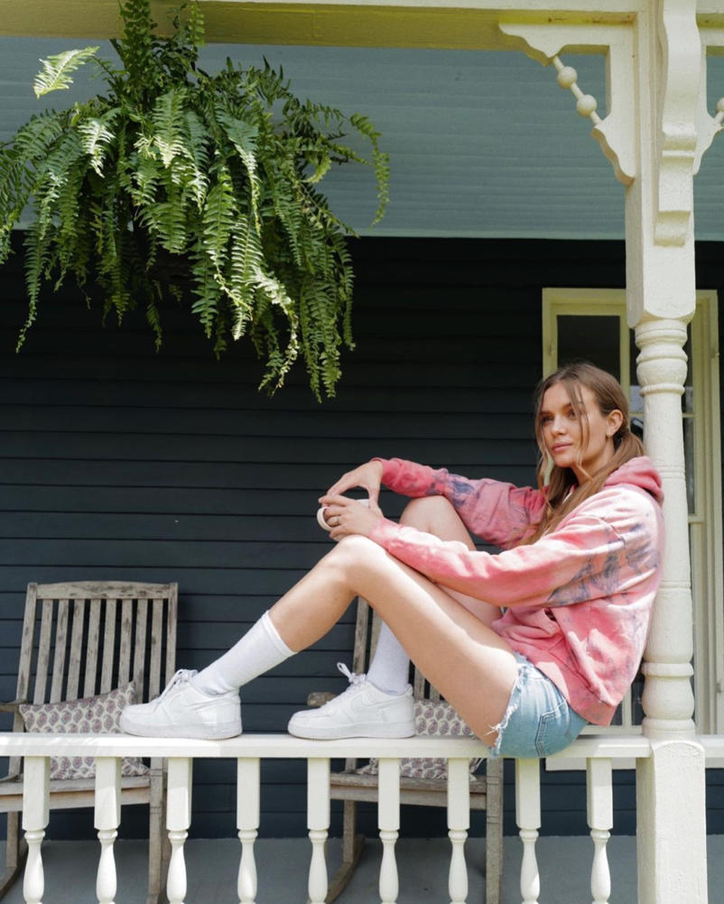 Josephine Skriver Hot Photoshoot in Denim Shorts 1