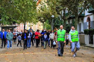 Marcha en favor de la asociación Síndrome X Frágil