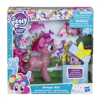 My Little Pony Pinkie Pie Birthday Surprise Birthday Ponies Set