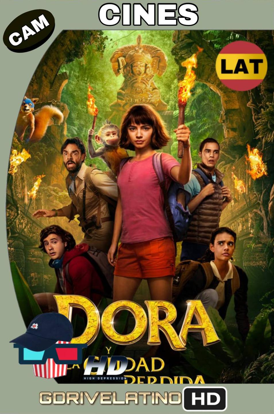 Dora y la Ciudad Perdida (2019) CAM (Latino) MKV