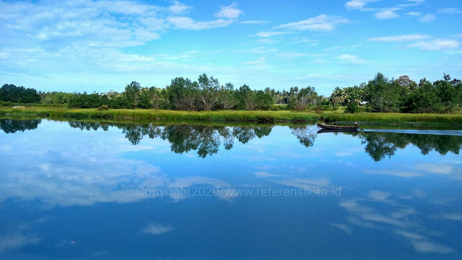 Tempat wisata Muaro Anai Padang Pariaman jadi pelabuhan