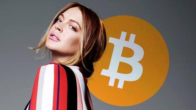 Lindsey Lohan bitcoin