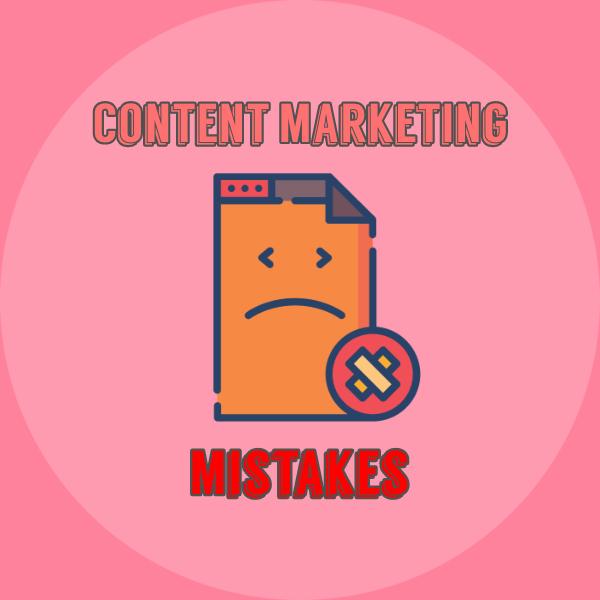 Social Media Content Marketing Mistakes