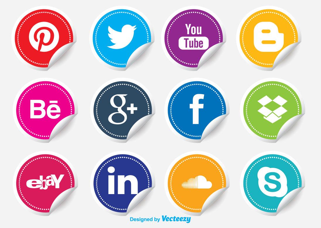 Free circle PNG Social media icon