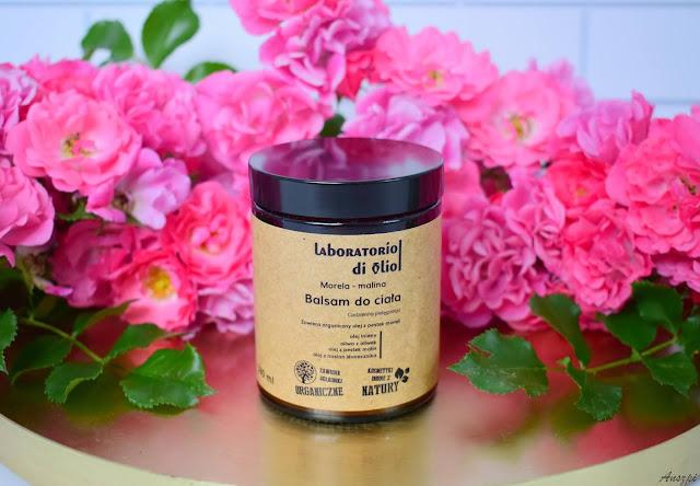 Balsam do ciała morela i malina  Laboratorio di olio