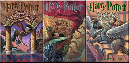 J K Rowling S First Three Books About Boy Wizard Harry Potter Are Masterpieces Of Children Literature Fantasy Mystery