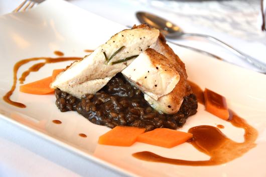 Risotto mit Moor im Ammerhauser Hotel Restaurant
