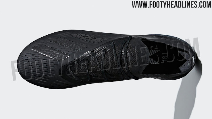 sale retailer 87ece ebf50 Blackout Adidas X 18 'Shadow Mode' Boots Leaked - Footy ...