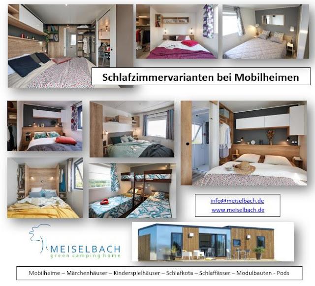Mobilheim Schlafzimmer