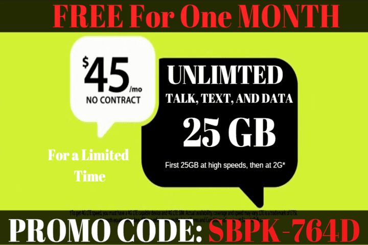 Promo Code For FREE Month of Service From Straight Talk