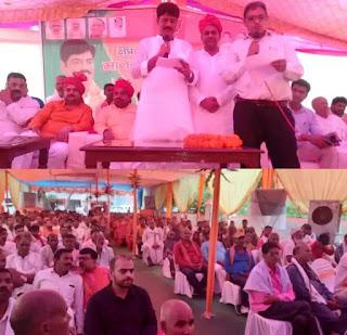 जालौन: रामपुरा ब्लॉक प्रमुख का शपथ ग्रहण समारोह धूमधाम से संपन्न  Jalaun: Swearing-in ceremony of Rampura block chief concluded with pomp