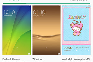 Oppo F3 Restore Default Themes