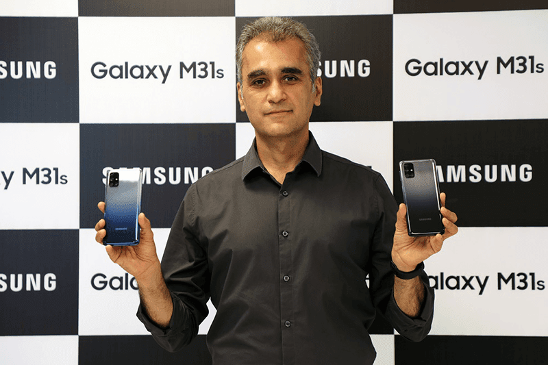 Samsung outs Galaxy M31s with Infinity-O screen, 6,000mAh batt, and 64MP Sony cam