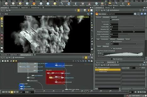 Houdini Merupakan Aplikasi High End Untuk D Animasi Yangmbangkan Oleh Side Effects Software Of Toronto Side Effects Software Diadaptasi Houdini Dari