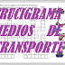 "CRUCIGRAMA ""Medios de transporte"""