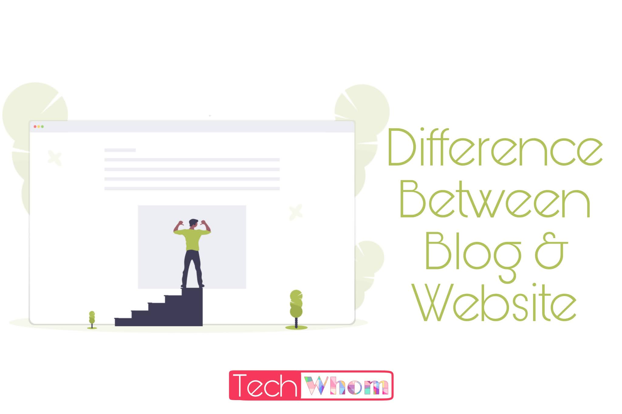 Difference between Blog & Website ?