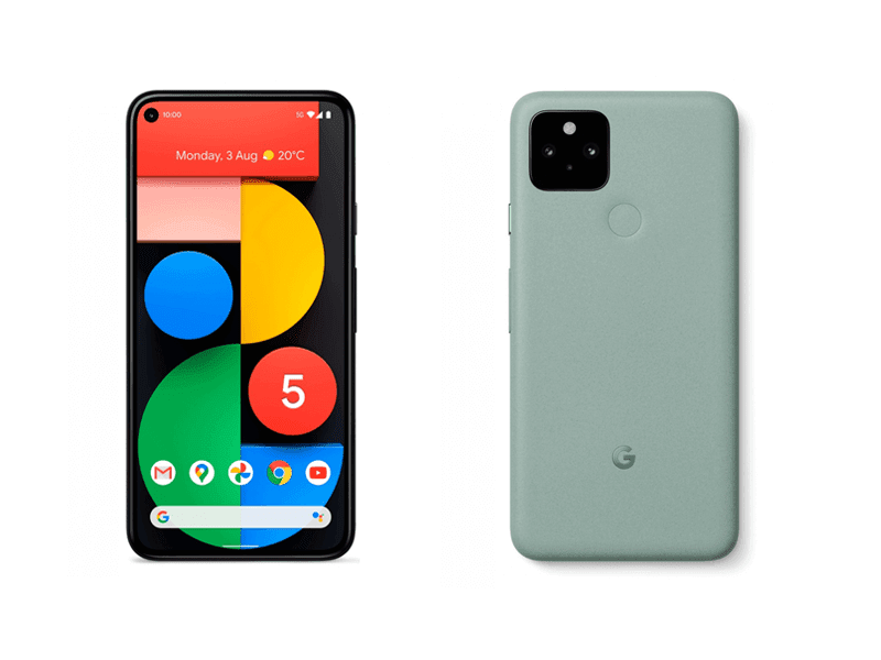 Google Pixel 5 with SD 765G now official for USD 699!