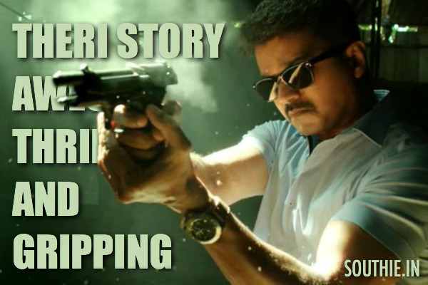 Theri Story is awesome, thrilling and gripping. Theri is said to be a modern take on Vijaykanth's Kshathriyan, which was written and produced by Mani Rathnam. Vijay in their, Vijay, Vijay story, Theri, Leaked, latest news, gossips, Southie, Southie.in, South Indian Entertainment