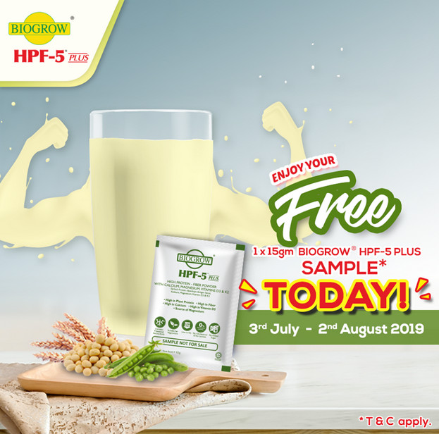 2019   Malaysia Free Sample Giveaway