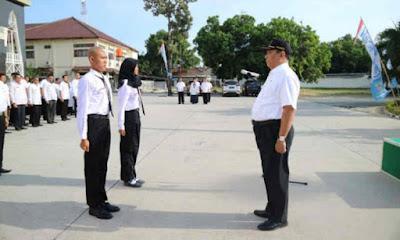 DKOP Kota Cirebon lakukan pemusatan latihan bagi 30 anggota paskibraka