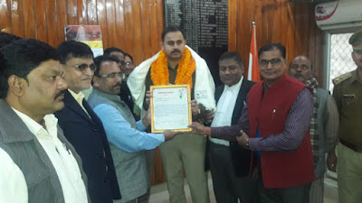 Shia Society Honors SP Sultanpur Uttar Pradesh