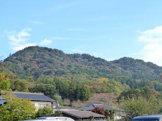 城山の紅葉状況 2017.11.4