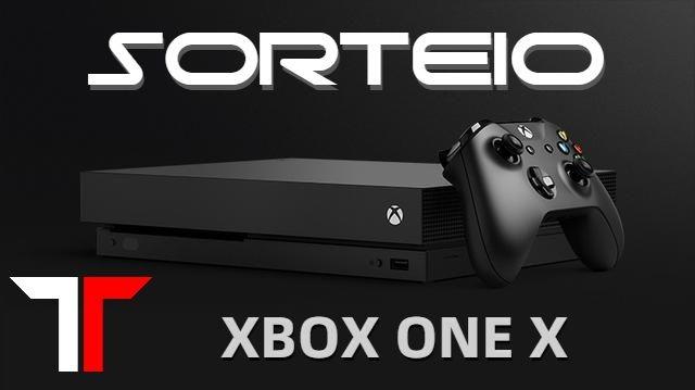 Sorteio de um Xbox One X