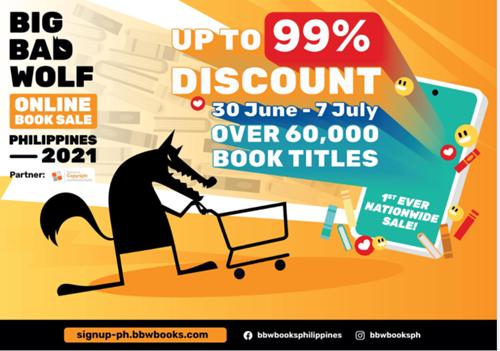 Big Bad Wolf Online Book Sale