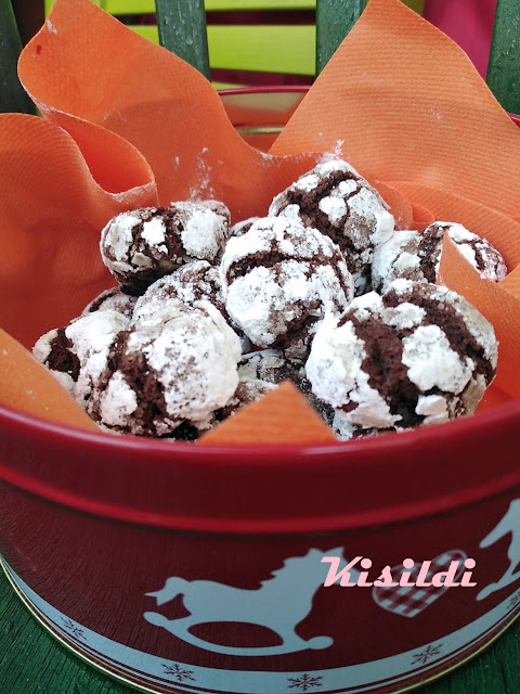 Csokis pöfeteg II.  Crinkles de ciocolata