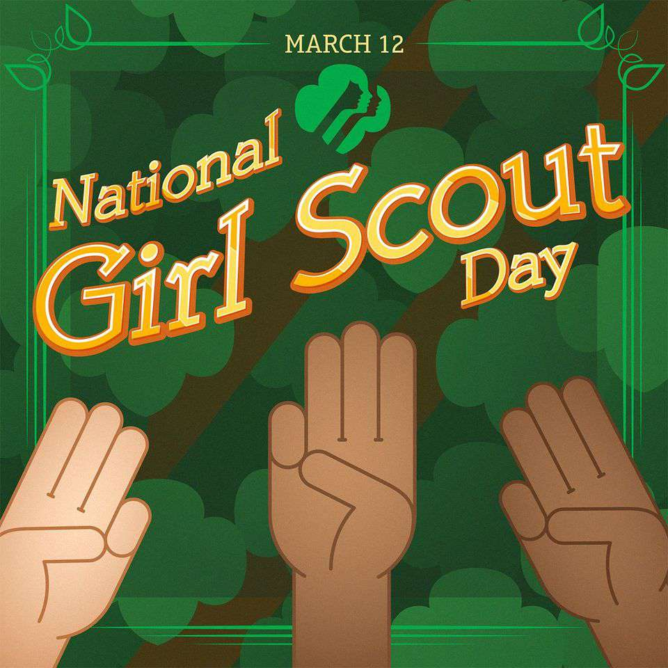 National Girl Scout Day Wishes For Facebook