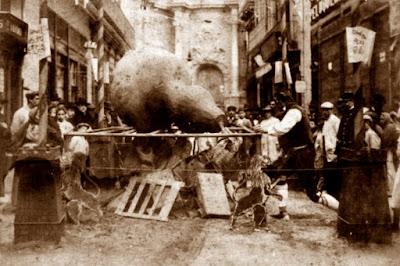 Falla de la calle de Zaragoza, 1902