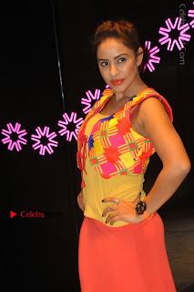 Telugu Actress Model Sri Reddy Latest Stills in Yellow Dress  0016.JPG