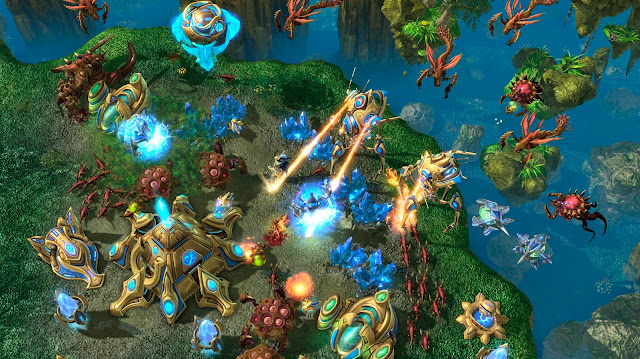 """StarCraft II: Heart of the Swarm"" Game chiến thuật RTS 2013"