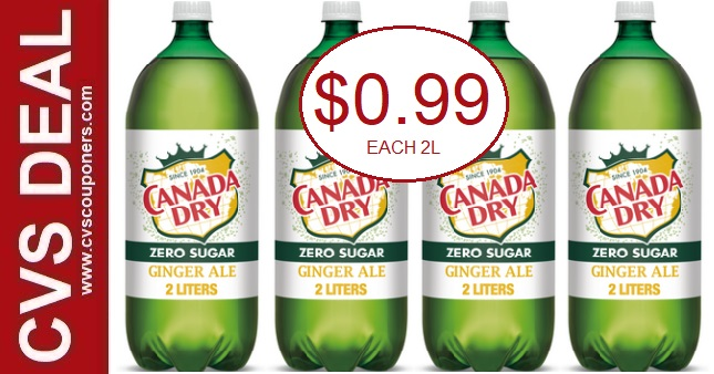 Cheap Canada Dry Ginger Ale CVS Deals