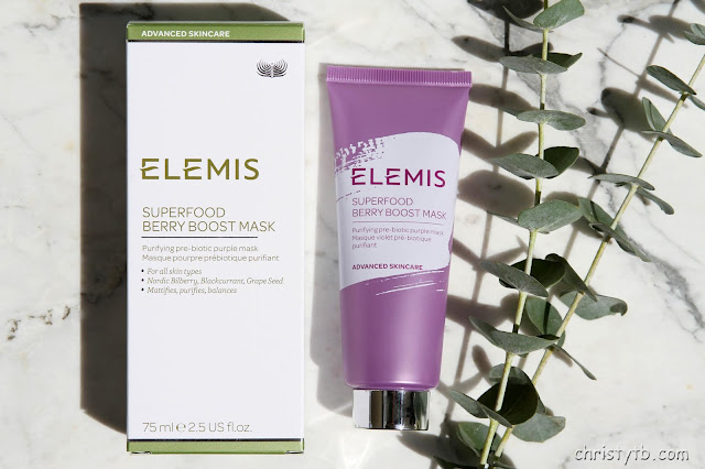 "Очищающая маска с пребиотиками ""Суперпитание"" ELEMIS Superfood Berry Boost Mask"