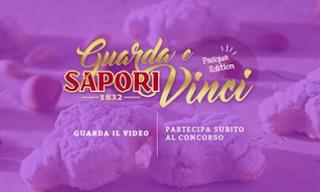Logo Concorso Sapori : guarda e vinci gratis buoni Sapori da 100 euro o Boscolo da 800 euro