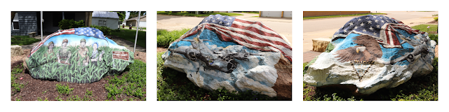 North Central Iowa Freedom Rock Tour - Grundy County Freedom Rock, Conrad, Iowa