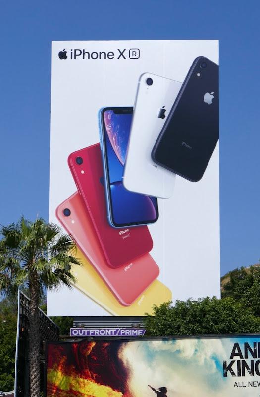 iPhone XR Summer 2019 billboard