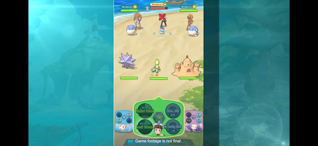 Pokemon Masters Concept